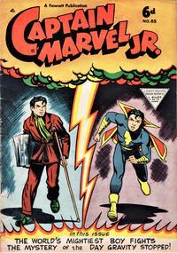 Cover Thumbnail for Captain Marvel Jr. (L. Miller & Son, 1950 series) #85