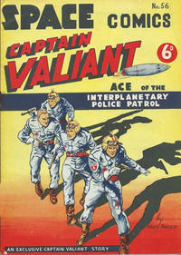 Cover Thumbnail for Space Comics (Arnold Book Company, 1953 series) #56