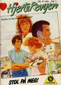Cover Thumbnail for Hjerterevyen (Serieforlaget / Se-Bladene / Stabenfeldt, 1960 series) #47/1986