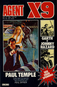 Cover Thumbnail for Agent X9 (Semic, 1976 series) #12/1982