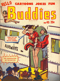 Cover Thumbnail for Hello Buddies (Harvey, 1942 series) #45