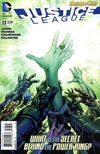 Cover Thumbnail for Justice League (DC, 2011 series) #33