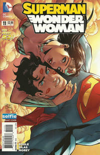 Cover Thumbnail for Superman / Wonder Woman (DC, 2013 series) #11 [Selfie Variant Cover]