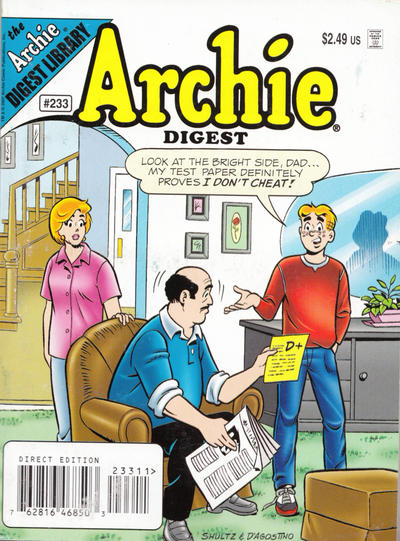 Cover for Archie Comics Digest (Archie, 1973 series) #233 [Direct]