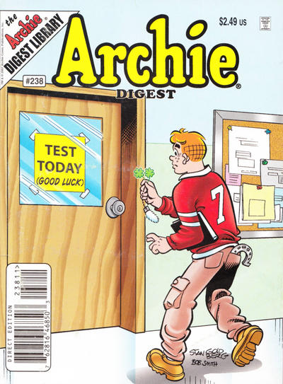 Cover for Archie Comics Digest (Archie, 1973 series) #238 [Direct]