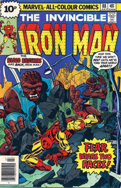 Cover for Iron Man (Marvel, 1968 series) #88 [25c Variant]