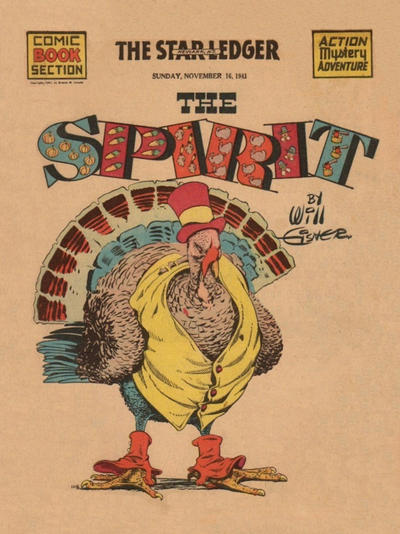 Cover for The Spirit (Register and Tribune Syndicate, 1940 series) #11/16/1941