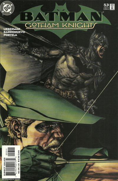 Cover for Batman: Gotham Knights (DC, 2000 series) #53 [Direct Sales]