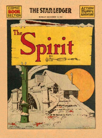 Cover for The Spirit (Register and Tribune Syndicate, 1940 series) #12/14/1941