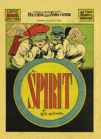 Cover for The Spirit (Register and Tribune Syndicate, 1940 series) #1/4/1942