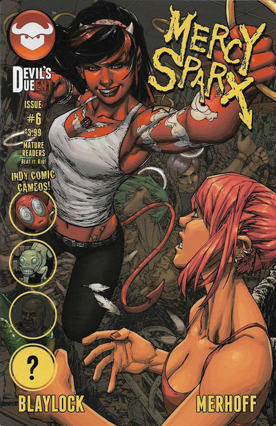 Cover for Mercy Sparx (Devil's Due Publishing, 2013 series) #6 [Cover A]