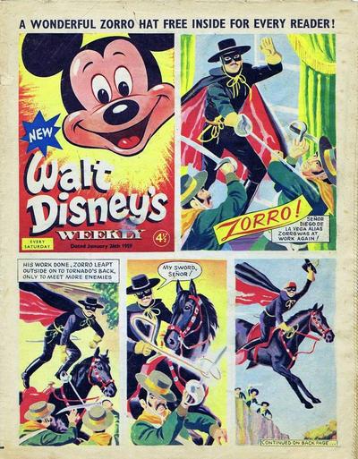 Cover for Walt Disney's Weekly (Disney/Holding, 1959 series) #v1#1
