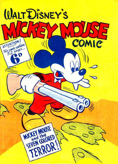 Cover for Walt Disney's Mickey Mouse Comic (Ayers & James, 1943 ? series)