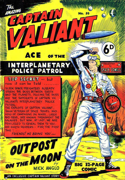 Cover for Space Comics (Arnold Book Company, 1953 series) #50