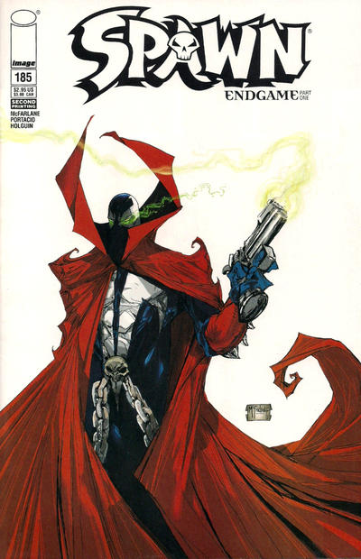 Cover for Spawn (Image, 1992 series) #185