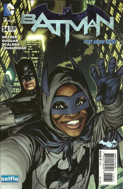 Cover for Batman (DC, 2011 series) #34 [Selfie Cover]