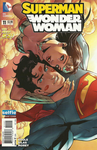 Cover for Superman / Wonder Woman (DC, 2013 series) #11 [Combo Pack]