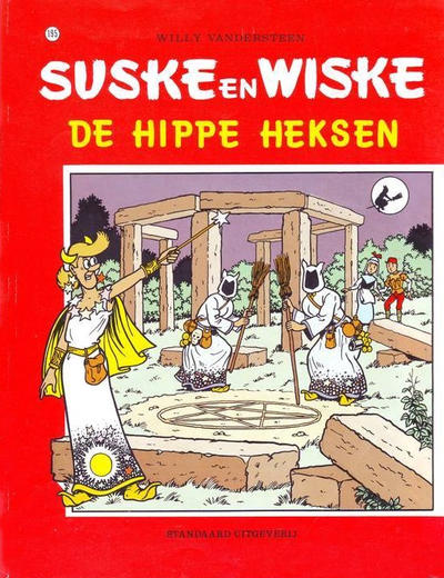 Cover for Suske en Wiske (Standaard Uitgeverij, 1967 series) #195 - De hippe heksen
