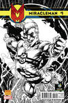 Cover Thumbnail for Miracleman (2014 series) #1 [Wizard World Portland 2014 Exclusive Black & White Variant by Neal Adams]