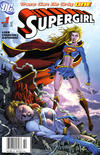 Cover for Supergirl (DC, 2005 series) #1 [Newsstand - Ian Churchill / Norm Rapmund Cover]