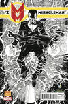Cover Thumbnail for Miracleman (2014 series) #2 [Wizard World Portland Comic Con 2014 Exclusive Black and White Variant by Neal Adams]