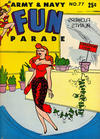 Cover for Army & Navy Fun Parade (Harvey, 1951 series) #77