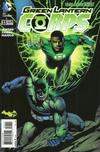 Cover for Green Lantern Corps (DC, 2011 series) #33 [Batman 75th Anniversary Cover]