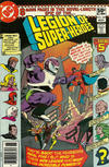 Cover Thumbnail for The Legion of Super-Heroes (1980 series) #269 [Newsstand]