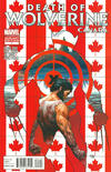 Cover Thumbnail for Death of Wolverine (2014 series) #1 [Canada Variant by Steve McNiven]