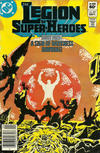 Cover for The Legion of Super-Heroes (DC, 1980 series) #291 [Newsstand]