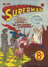 Cover for Superman (K. G. Murray, 1947 series) #60