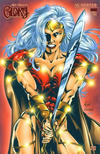 "Cover Thumbnail for Alan Moore's Glory (2001 series) #1 [Haley ""Fierce"" Ruby Red Foil Cover]"