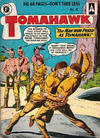 Cover for Tomahawk (Thorpe & Porter, 1954 series) #41