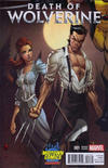 Cover Thumbnail for Death of Wolverine (2014 series) #1 [Midtown Comics Exclusive Variant by J. Scott Campbell]