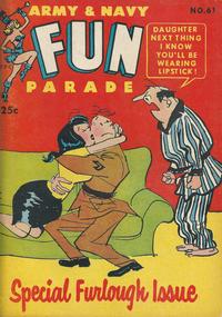 Cover Thumbnail for Army & Navy Fun Parade (Harvey, 1951 series) #61