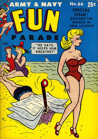 Cover Thumbnail for Army & Navy Fun Parade (Harvey, 1951 series) #86