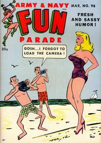 Cover Thumbnail for Army & Navy Fun Parade (Harvey, 1951 series) #98