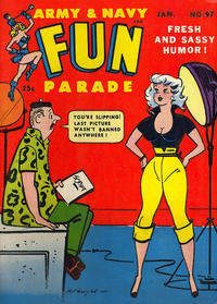 Cover Thumbnail for Army & Navy Fun Parade (Harvey, 1951 series) #97