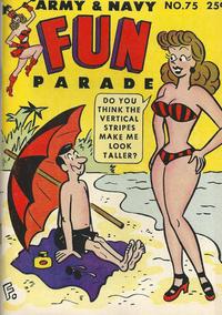 Cover Thumbnail for Army & Navy Fun Parade (Harvey, 1951 series) #75