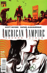 Cover Thumbnail for American Vampire: Second Cycle (DC, 2014 series) #1