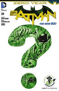 Cover Thumbnail for Batman (DC, 2011 series) #29 [Emerald City Comicon Cover]