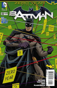 Cover Thumbnail for Batman (DC, 2011 series) #33 [Paolo Rivera Cover]