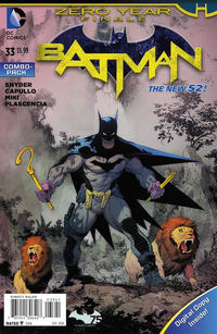 Cover Thumbnail for Batman (DC, 2011 series) #33 [Combo-Pack]
