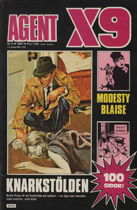 Cover Thumbnail for Agent X9 (Semic, 1971 series) #9/1981