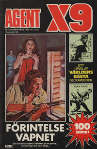 Cover Thumbnail for Agent X9 (Semic, 1971 series) #13/1981