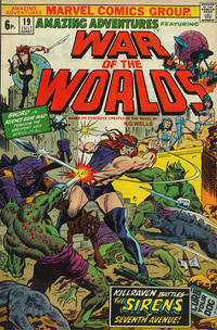 Cover Thumbnail for Amazing Adventures (Marvel, 1970 series) #19 [British]