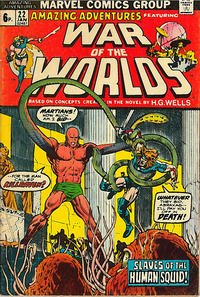 Cover Thumbnail for Amazing Adventures (Marvel, 1970 series) #22 [British]