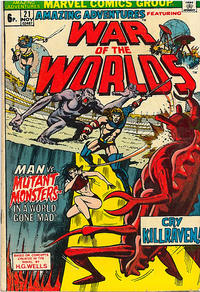 Cover Thumbnail for Amazing Adventures (Marvel, 1970 series) #21 [British]