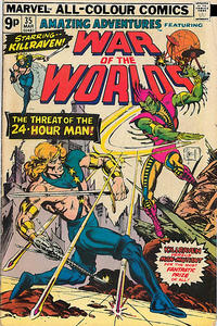 Cover Thumbnail for Amazing Adventures (Marvel, 1970 series) #35 [British]