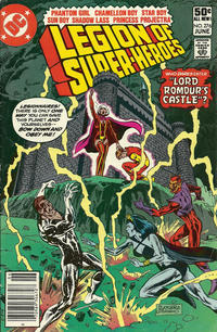 Cover Thumbnail for The Legion of Super-Heroes (DC, 1980 series) #276 [Newsstand]